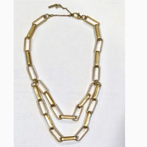 Kenneth Cole Layered Chain Necklace